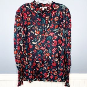 William Rast Floral Top